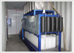 Containerized direct system block ice machine FIB-10DC
