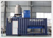 Containerized direct system block ice machine FIB-30DC